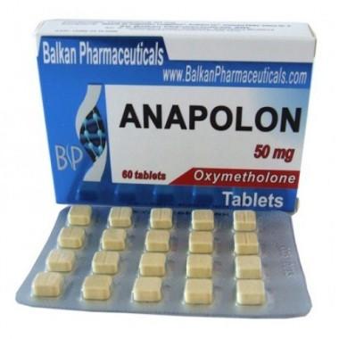 Anapolon Анаполон 50 мг, 100 таблеток, Balkan Pharmaceuticals в Актобе