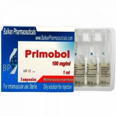 Primobol Примоболан 100 мг/мл, 10 ампул, Balkan Pharmaceuticals в Актобе