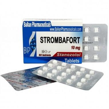 Strombafort Стромбафорт 10 мг, 100 таблеток, Balkan Pharmaceuticals в Актобе