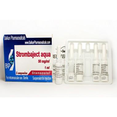 Strombaject aqua Стромбаджект аква 50 мг/мл, 10 ампул, Balkan Pharmaceuticals в Актобе