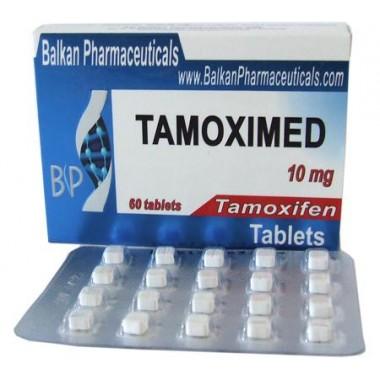 Tamoximed Тамоксифен 10 мг, 20 таблеток, Balkan Pharmaceuticals в Актобе