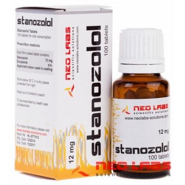Stanozolol Станозолол 12 мг, 100 таблеток, Neo Labs в Актобе