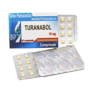 Turanabol Туринабол 10 мг, 100 таблеток, Balkan Pharmaceuticals в Актобе