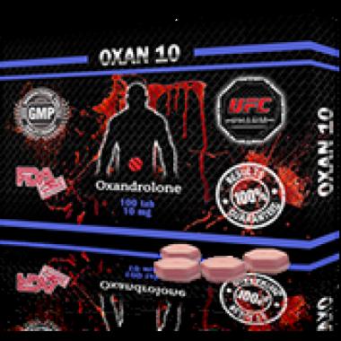 OXAN 10 Оксандролон 10 мг, 100 таблеток, UFC PHARM в Актобе
