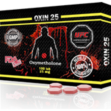 OXIN 25 Оксиметолон 25 мг, 100 таблеток, UFC PHARM в Актобе