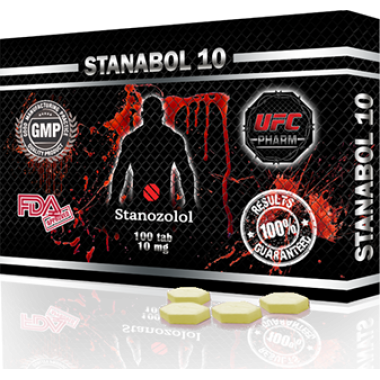 STANABOL 10 Станабол 10 мг, 100 таблеток, UFC PHARM в Актобе