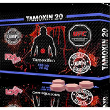TAMOXIN 20 Тамоксифен 20 мг, 50 таблеток, UFC PHARM в Актобе