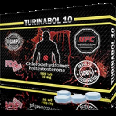 TURINABOL Туринабол 10 мг, 100 таблеток, UFC PHARM в Актобе