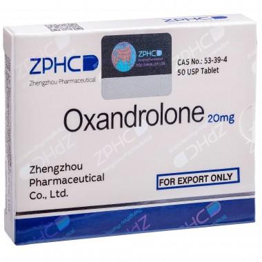 Oxandrolone Оксандролон 20 мг, 50 таблеток, ZPHC в Актобе