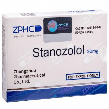 Stanozolol Станозолол оральный 20 мг, 50 таблеток, ZPHC в Актобе