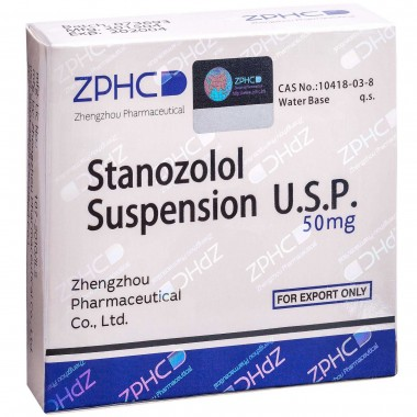 Stanozolol Suspension Станозолол суспензия 50 мг, 10 ампул, ZPHC в Актобе