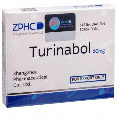Turinabol Туринабол 20 мг, 50 таблеток, ZPHC в Актобе