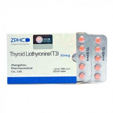 Thyroid Liothyronine T3 Трийодтиронин 50 мкг, 50 таблеток, ZPHC в Актобе